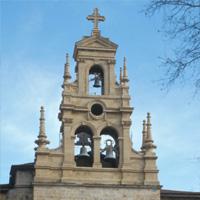 Torre-espadaña iglesia de San Vicente
